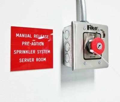 Pre-Action sprinkler system