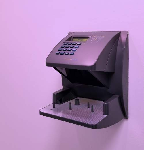 Biometric Hand Scanner for data center access